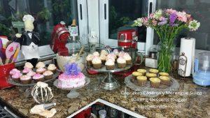Foto de cupcakes y merengue para blog