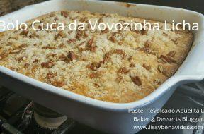 Pastel revolcado en portugues