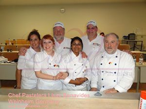 lissy with friends and german master chefs 350x300 sign jpg